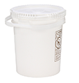 CASE OF (10) SUPPLY-142- SUPPLYPAK 5-GAL UN RATED POLY PAIL