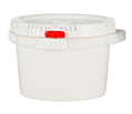 CASE OF (10) SUPPLY-213- SUPPLYPAK 2 GAL POLY PAIL